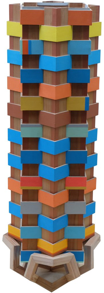 E1835 Mi estructura de papel y madera