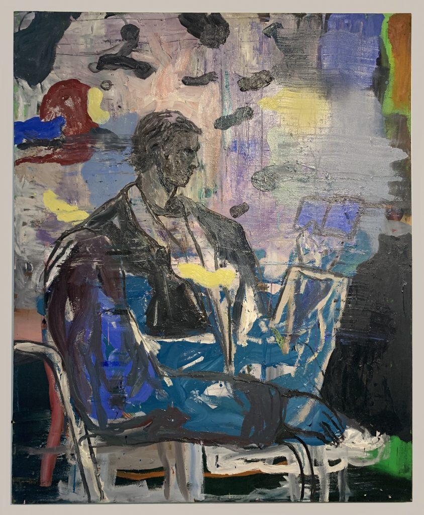 K28746 'Self Portrait Reading'