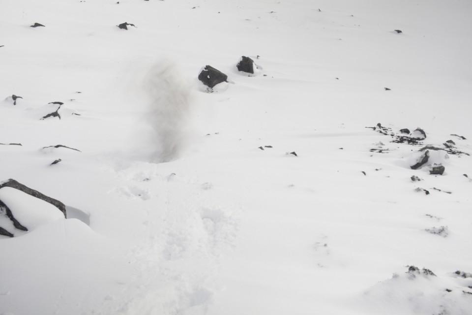 K26985 Sin título- Serie errantes de la Antártida III